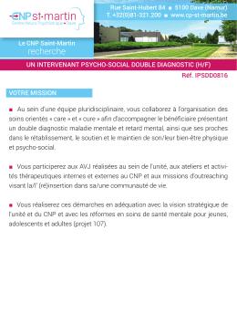 recherche - CNP Saint
