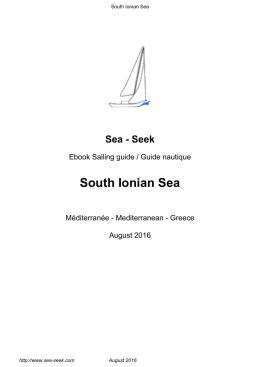 South Ionian Sea - Sea-Seek