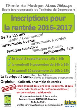 Inscription détails ICI - Bellegarde