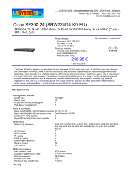 Cisco SF300-24 (SRW224G4-K9-EU)