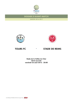toursfc stadedereims