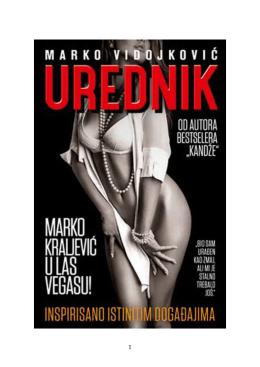 Marko Vidojkovic - Urednik