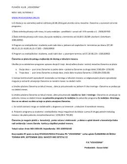 detaljnije - Plivački Klub Vojvodina