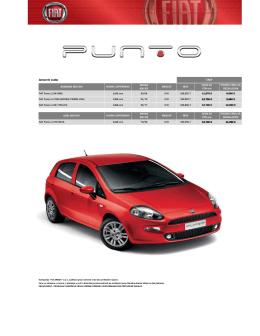 Cenovik Fiat Punto septembar