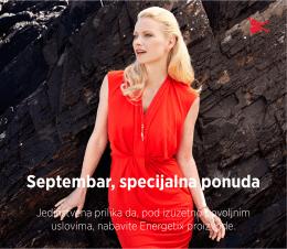 Septembar, specijalna ponuda