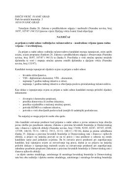 DJEČJI VRTIĆ IVANIĆ GRAD Park hrvatskih branitelja 3 10310