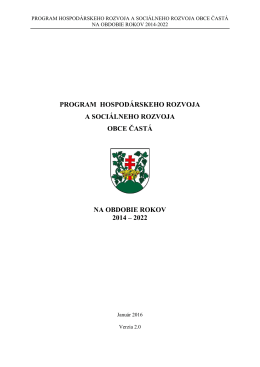 PHSR_Častá_2014_2022