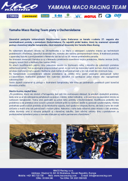 Oschersleben - Maco Racing Team