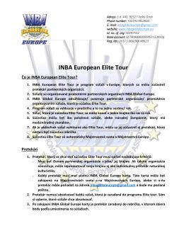 INBA European Elite Tour