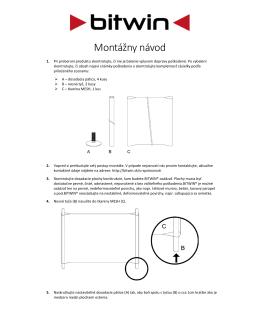 PDF návod