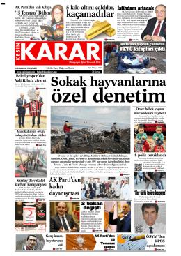 (01 Eyl\374l 2016_Kesin Karar Gazetesi)