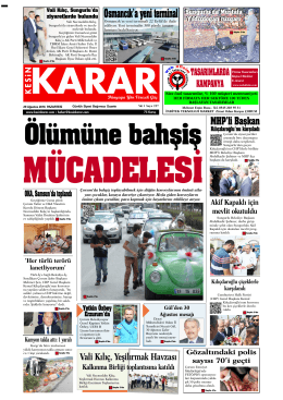 29 agustos 2016_Kesin Karar Gazetesi
