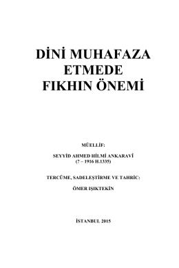 Muhibbul Fıkıh  - Memduhatilimdernegi.com