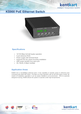 KS900 Ethernet Switch_en