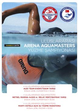 Detaylı Bilgi - Aquamasters Yüzme Yarışı