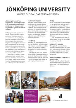 jönköpıng unıversıty - Jönköping University