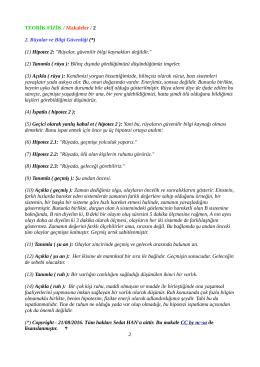 pdf_aç - Teorik Fizik