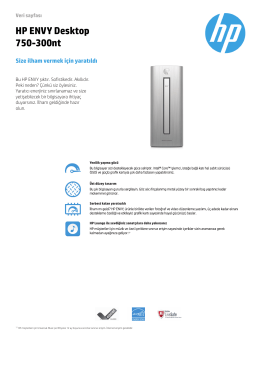 PC Consumer EMEA Desktop features
