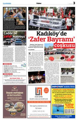 coşkusu - gazete kadıköy