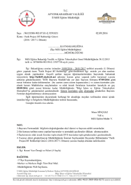Java Printing - afyon il millî eğitim müdürlüğü