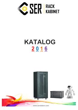 Rack Kabin Kataloğu 2016