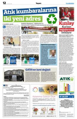 Kızılay - gazete kadıköy