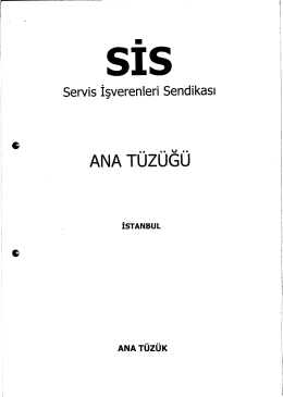 SİS (Servis İşverenleri Sendikası)
