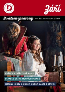 zPRavodaJ září 2016 - Východočeské divadlo Pardubice