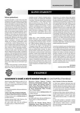 Velkopavlovický zpravodaj IV/2016 * černobílá