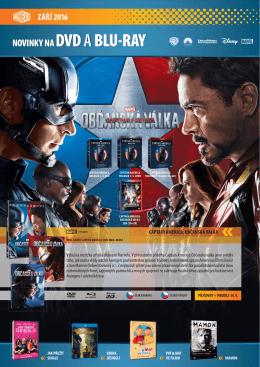 novinky na dvd a blu-ray