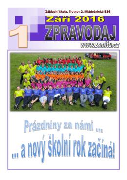 Základní škola, Trutnov 2, Mládežnická 536