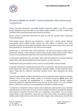 více - Svaz zdravotních pojišťoven ČR