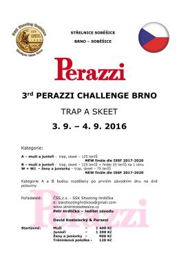 3rd PERAZZI CHALLENGE BRNO TRAP A