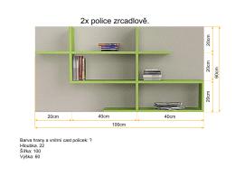 2x police zrcadlově.