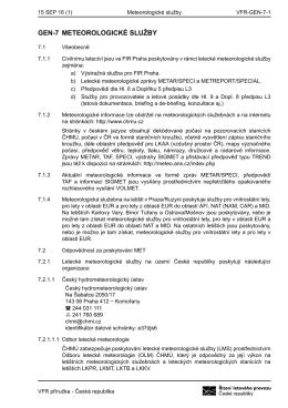 PDF/Tisk - Letecká informační služba