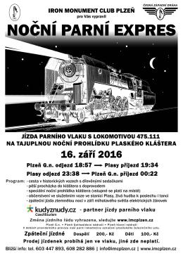 Plakát - Iron Monument Club Plzeň