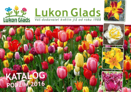 PDF katalog - Lukon Glads