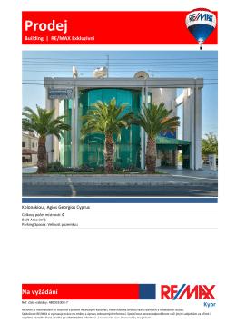 Prodej - RE/MAX Cyprus