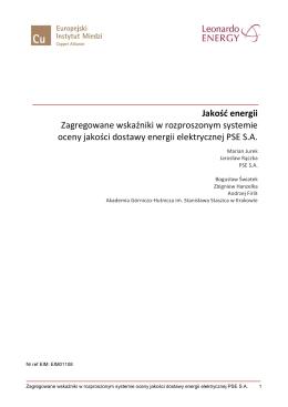 EIM01108 Zagregowane wskaźniki w rozproszonym systemie oceny