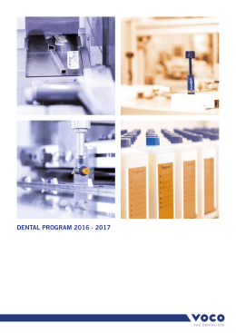 DENTAL PROGRAM 2016 · 2017