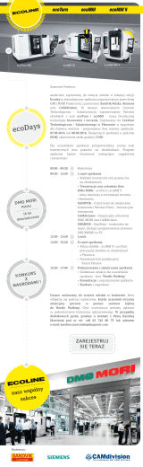 ecoDays - CNC FORUM