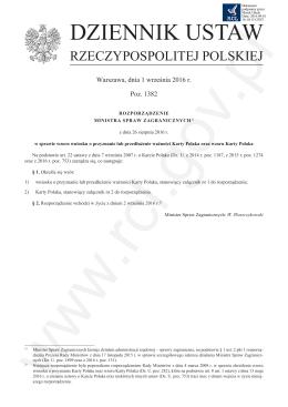 wniosek - Dziennik Ustaw