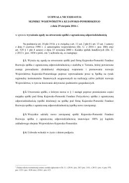 US-5-16-415 - BIP Urzędu Marszałkowskiego Województwa Kujawsko