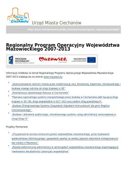 zapisz pdf - Urząd Miasta Ciechanów