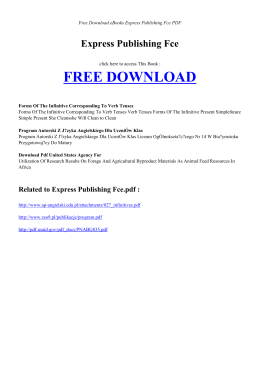 EXPRESS PUBLISHING FCE - Free Book