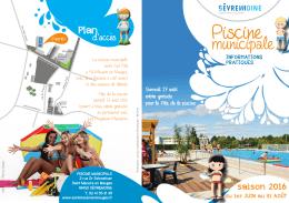 Dépliant piscine 2016 - Mairie de Saint-Macaire-en