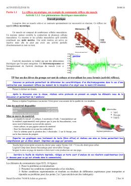 Tsact chs nerveuxmusc