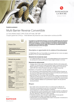 Multi Barrier Reverse Convertible