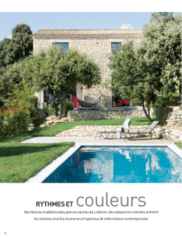 RYTHMES ET couleurs - At Home Architecture