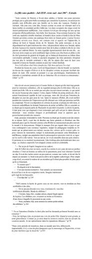 La fille sans qualités - Juli ZEH -Actes sud - mai 2007